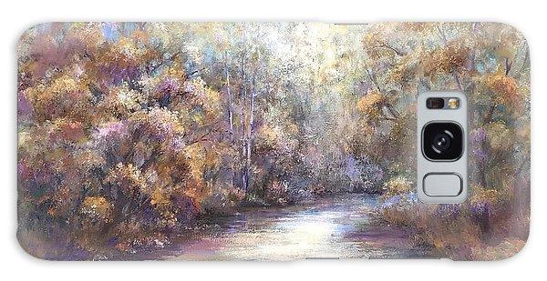 Autumn Stream Galaxy Case by Bonnie Goedecke
