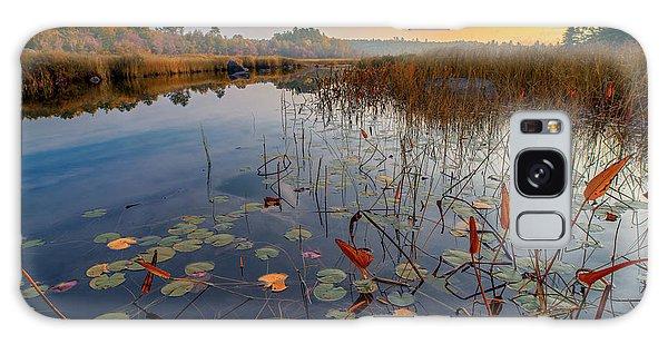 Autumn Sunrise At Compass Pond Galaxy Case