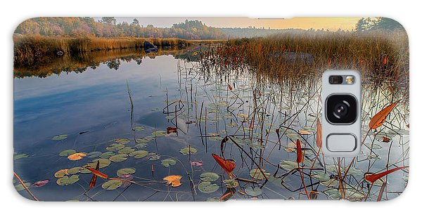 Autumn Sunrise At Compass Pond Galaxy Case