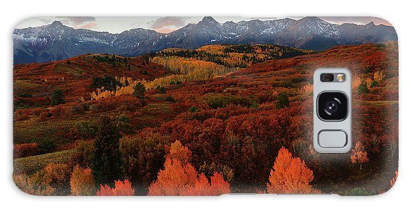 Autumn Sunrise At Dallas Divide In Colorado Galaxy Case