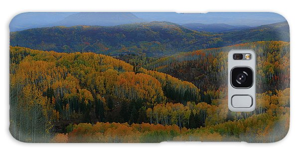 Autumn Sunrise At Rainbow Ridge Colorado Galaxy Case