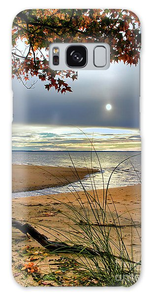 Autumn Sunrise On The James Galaxy Case