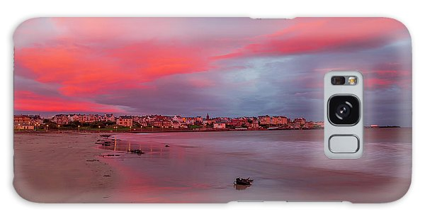 Autumn Sunrise Galaxy Case by Roy McPeak