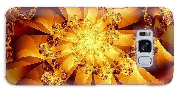 Autumn Sunshine Galaxy Case by Michelle H