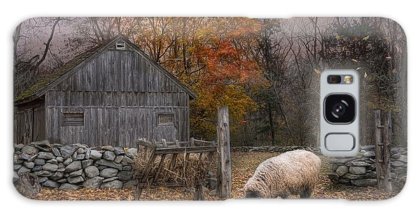 Sheep Galaxy S8 Case - Autumn Sweater by Robin-Lee Vieira