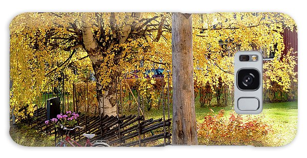 Rural Rustic Autumn Galaxy Case