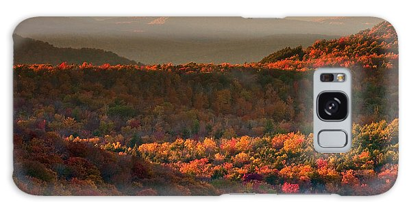 Autumn Tapestry Galaxy Case by Neil Shapiro