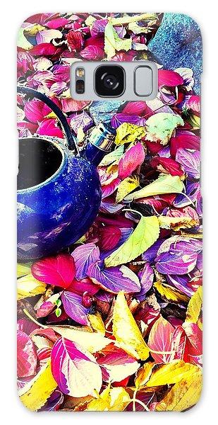 Autumn Tea Galaxy Case