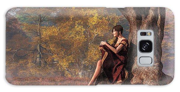 Autumn Thoughts Galaxy Case by Daniel Eskridge