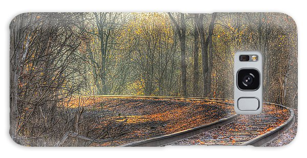 Autumn Tracks Galaxy Case