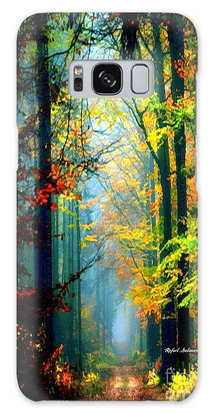 Autumn Trails In Georgia Galaxy Case