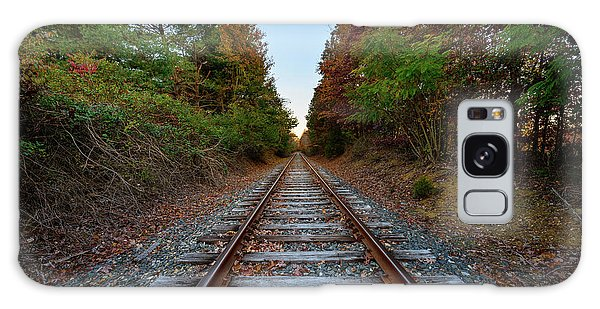 Autumn Train Galaxy Case