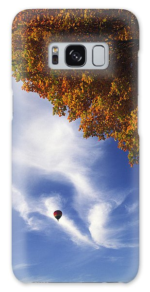 Autumn Traveler - Lake Geneva Wisconsin Galaxy Case