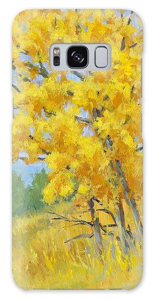 Autumn Tree Galaxy Case