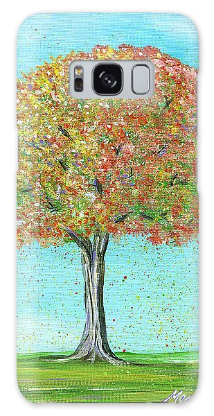 Autumn Tree Galaxy Case