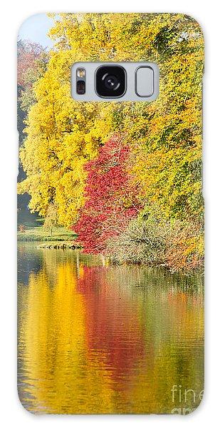 Autumn Trees Galaxy Case