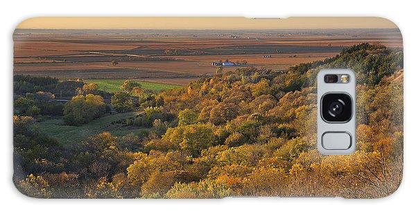Autumn View At Waubonsie State Park Galaxy Case