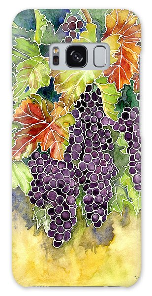 Autumn Vineyard In Its Glory - Batik Style Galaxy Case by Audrey Jeanne Roberts