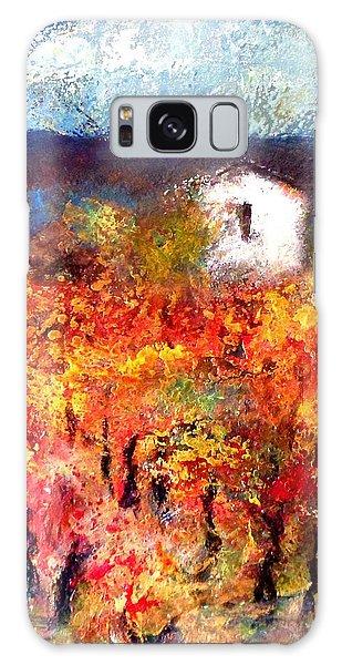 Autumn Vineyard Galaxy Case