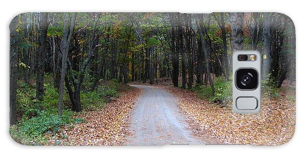 Autumn Walk Galaxy Case by Jan Cipolla