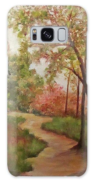 Autumn Walk Galaxy Case by Roseann Gilmore