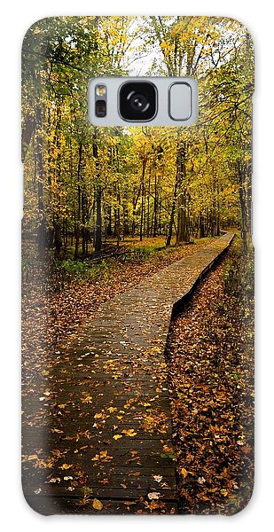 Autumn Walk Galaxy Case