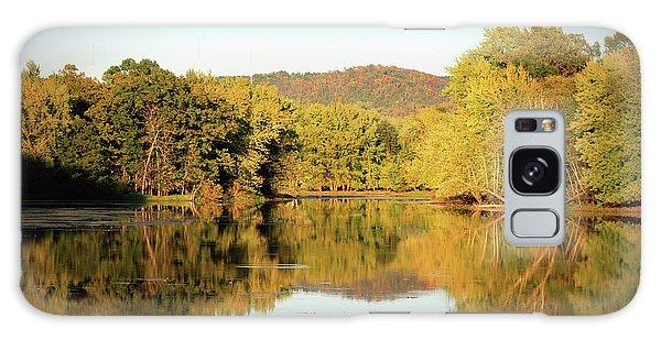Autumn Water Galaxy Case