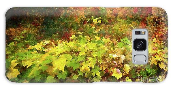 Autumn Watercolor Galaxy Case