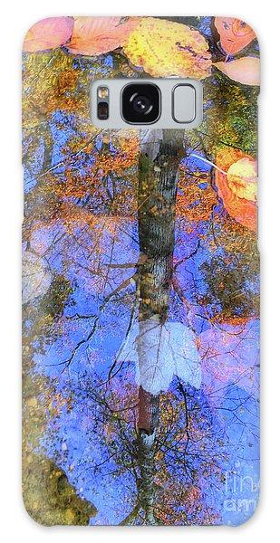 Autumn Watermark Galaxy Case