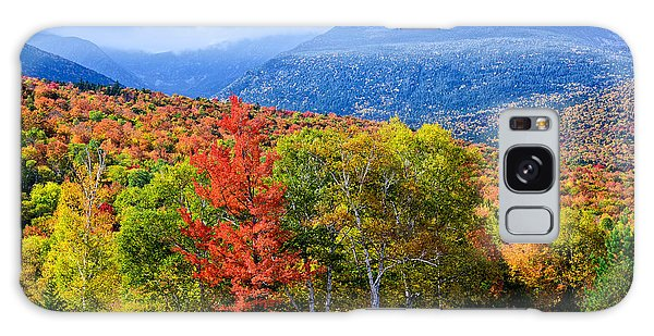 Galaxy Case featuring the photograph Autumn White Mountains Nh by Michael Hubley