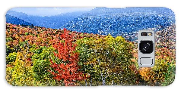 Autumn White Mountains Nh Galaxy Case