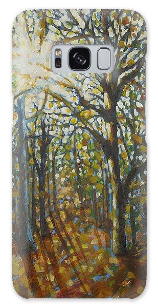 Autumn Wood Galaxy Case