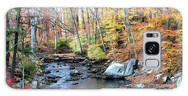 Autumn Woodlands Galaxy Case