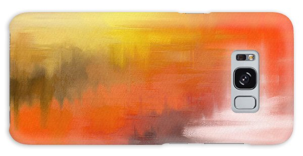 Galaxy Case featuring the digital art Autumnal Abstract  by Shelli Fitzpatrick