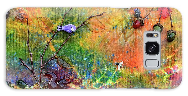 Autumnal Enchantment Galaxy Case by Donna Blackhall