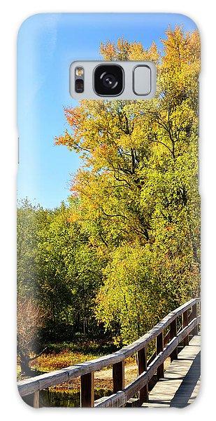 Autumnal North Bridge Galaxy Case