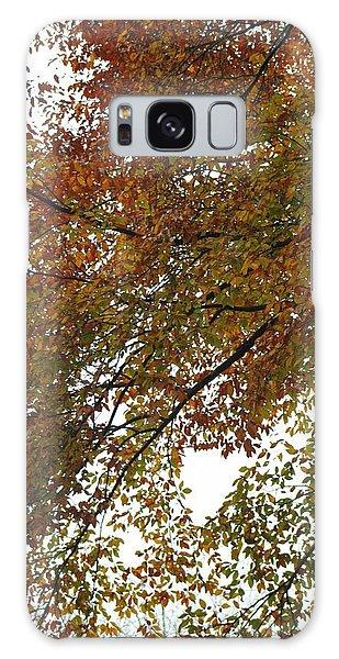 Autumn's Abstract Galaxy Case by Deborah  Crew-Johnson
