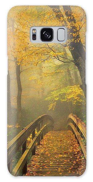 Autumn's Bridge To Heaven Galaxy Case