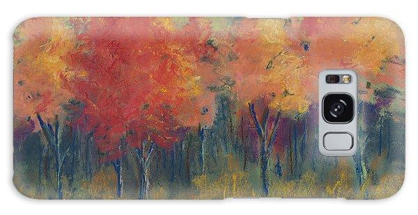 Autumn's Glow Galaxy Case