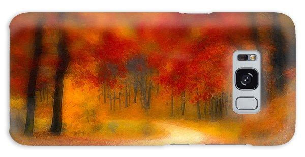 Autumn's Promise Galaxy Case