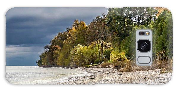 Autumn's Shoreline Galaxy Case