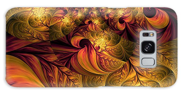 Autumns Winds Galaxy Case