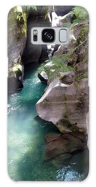 Avalanche Creek Glacier National Park Galaxy Case by Marty Koch
