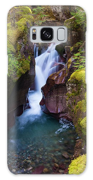Galaxy Case featuring the photograph Avalanche Gorge 4 by Gary Lengyel