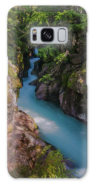Galaxy Case featuring the photograph Avalanche Gorge 5 by Gary Lengyel