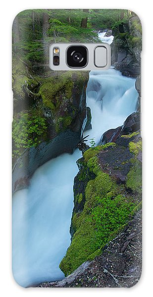 Galaxy Case featuring the photograph Avalanche Gorge 6 by Gary Lengyel