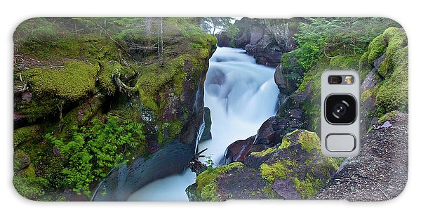 Galaxy Case featuring the photograph Avalanche Gorge 7 by Gary Lengyel