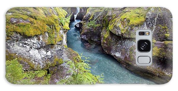 Avalanche Gorge In Glacier National Park Galaxy Case