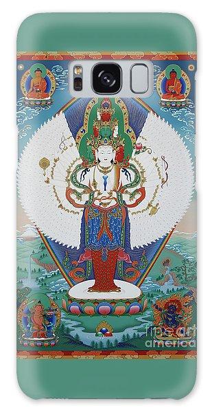 Avalokiteshvara Lord Of Compassion Galaxy Case