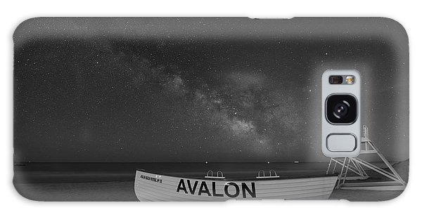 Avalon Milky Way Bw Galaxy Case